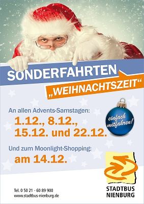 Plakat Advent 2018 © Stadt Nienburg/Weser