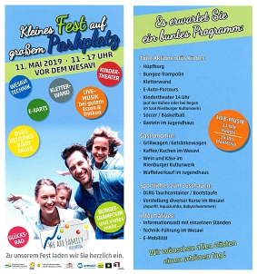 We are family - Flyer © Stadt Nienburg/Weser